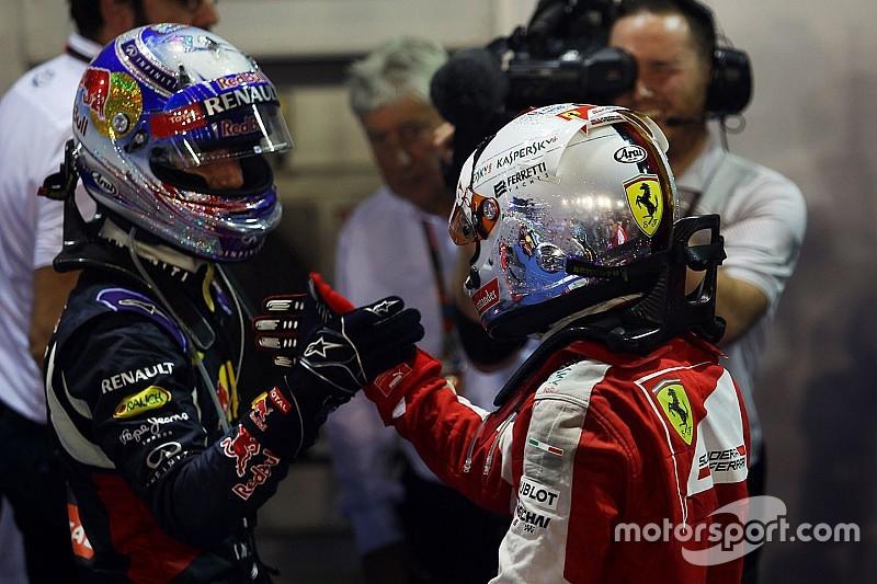 """Vettel su Ricciardo: """"Ancora compagni di squadra? Nulla in contrario"""""""