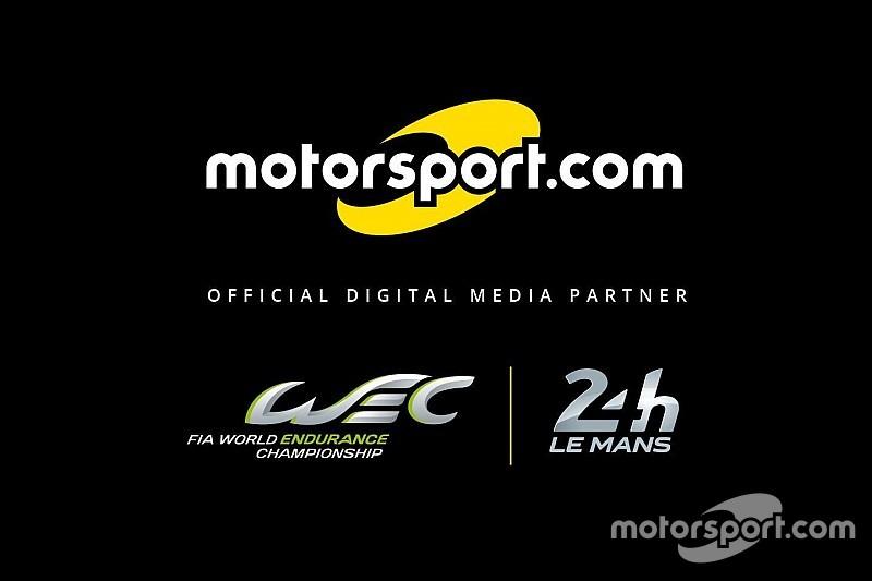 """FIA WEC & ACO nombran a  Motorsport.com como su """"Medio digital oficial"""""""