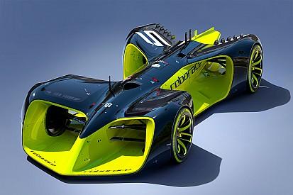 Roborace公布无人驾驶赛车概念图