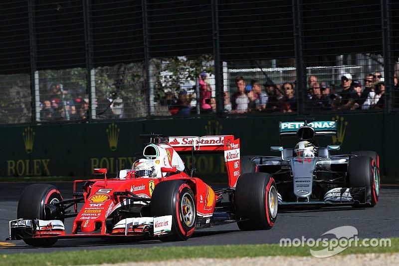 Los Mercedes todavía son los favoritos, dice Vettel