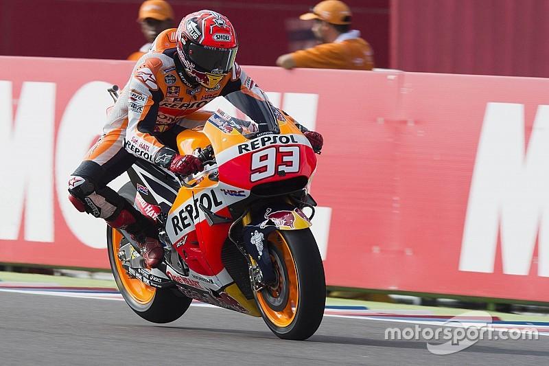 MotoGP Argentinië: Marquez ondanks crash snelste in VT3