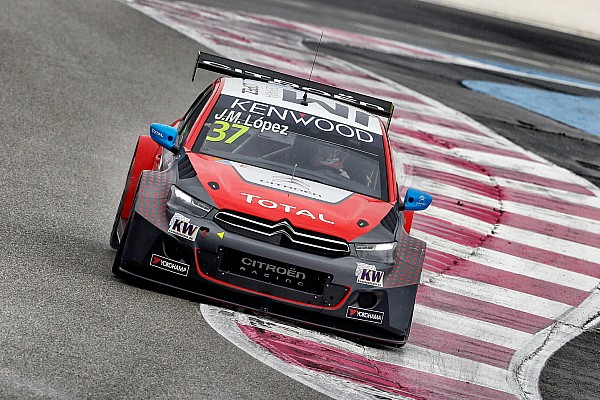 WTCC-Auftakt in Paul Ricard: Weltmeister Lopez holt Pole-Position für Citroën