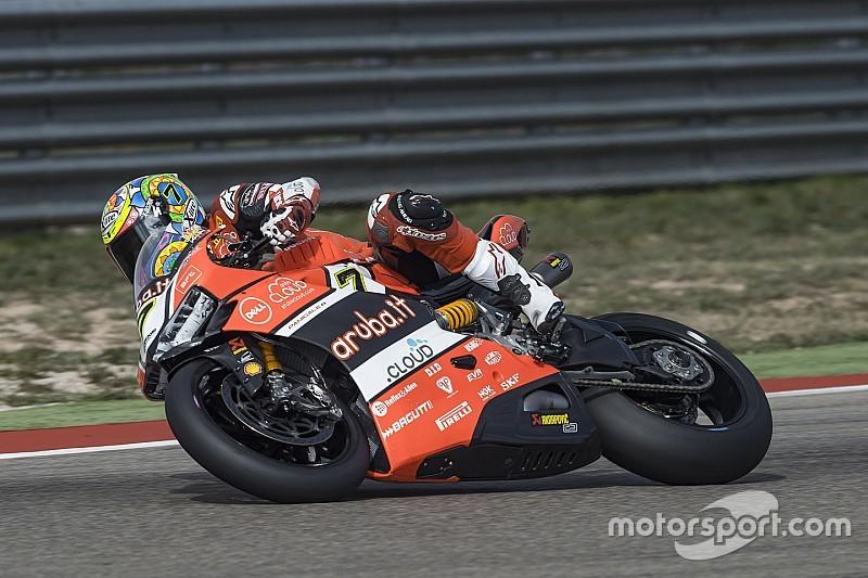 Ducati team, hace el doble en Aragón con Chaz Davies, Davide Giugliano sexto en la segunda Carrera