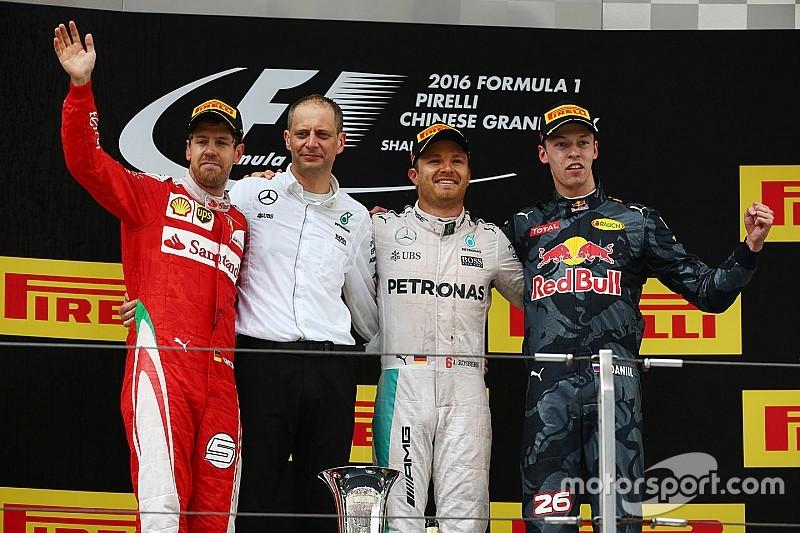 Nico Rosberg mantiene su racha triunfal en China