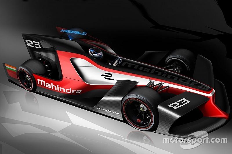马兴德拉和宾尼法利纳公布FE概念赛车设计