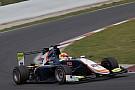 Jorg lidera el doblete de DAMS en el último test de GP3 con Palou 4º