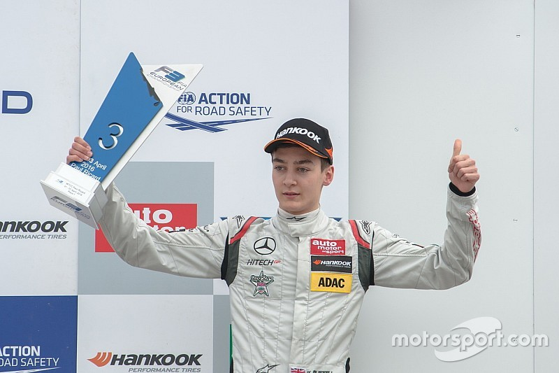 George Russell si prende la prima pole position dell'Hungaroring