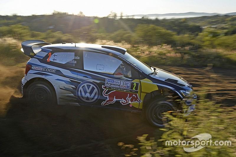 WRC阿根廷站首日:拉特瓦拉领跑