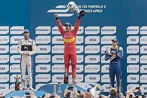 Formula E Reporte de la carrera Di Grassi dominó en las calles de París