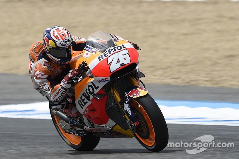 """Pedrosa: """"La falta de tracción ayuda a Rossi a estar tan arriba"""""""