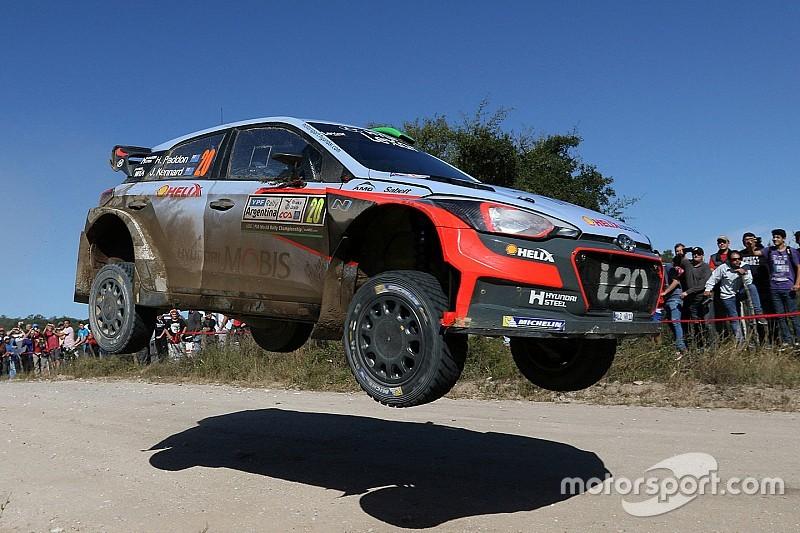 Rallye Argentinien: Hayden Paddon feiert ersten WRC-Sieg