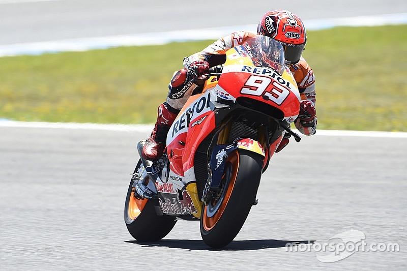 Márquez lidera teste em Jerez; Lorenzo é segundo e Rossi, 4º