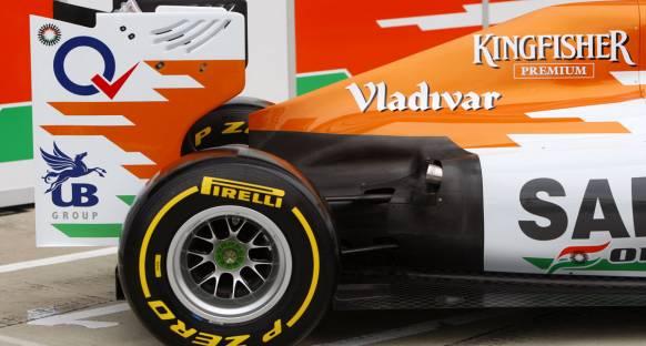 Force India güncellemelerden umutlu