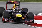 Vettel: Malezya'da yarış hızımız McLaren'e daha yakın