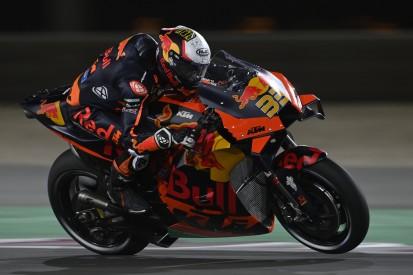 KTM-Fahrer machen sich über Kontingent der Vorderreifen Sorgen