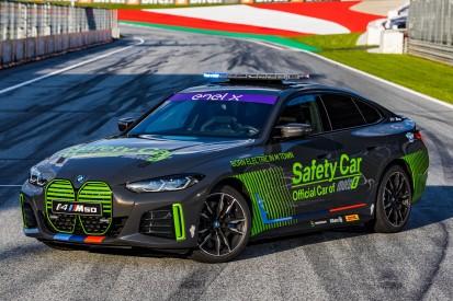 Der BMW i4 M50 ist das neue Safety-Car des MotoE-Weltcups