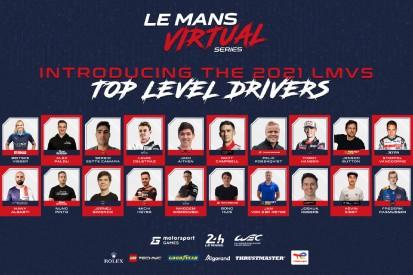 Motorsport Games und ACO enthüllen Fahrerliste für virtuelle Le-Mans-Serie