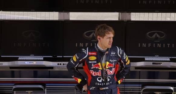 Vettel, McLaren'ın hızından etkilendi