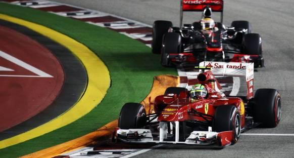 Massa Ferrari'ye minnettar