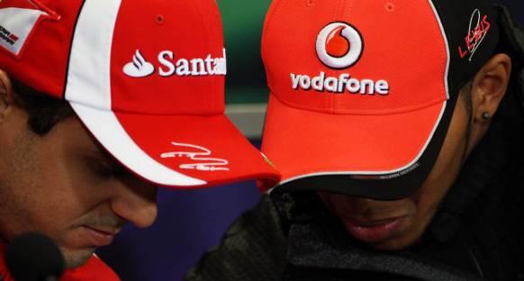Hamilton'dan Massa'ya gerilimi düşüren mesajlar