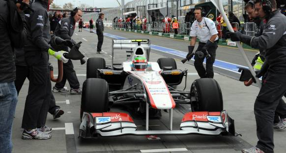 Sauber'in Singapur'daki hedefi puan almak