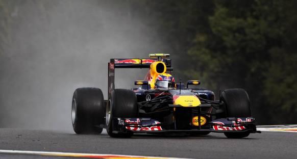 Belçika Grand Prix Cuma 2. antrenmanlar - Webber zirvede
