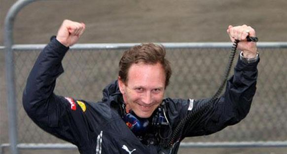 Horner, Vettel'in 'kontrollü' sürüşünü övdü
