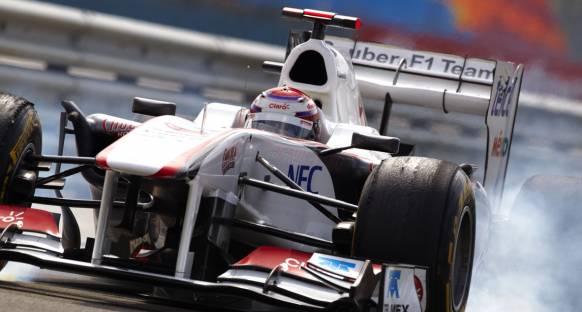 Perez F1'deki ilk puanıyla tanıştı