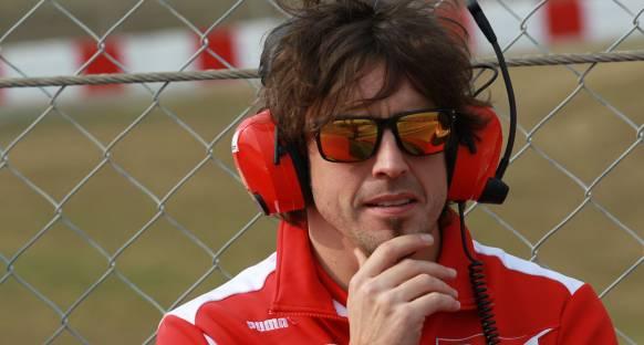 Alonso: Ferrari'de 20. olsam bile mutluyum