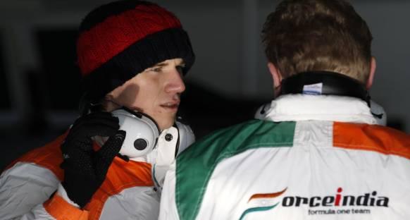 Hulkenberg Force India seçeneğini zorluyor