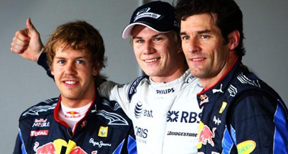 Brezilya Grand Prix 2010 sıralama turları - Büyük sürpriz Hulkenberg ilk sırada