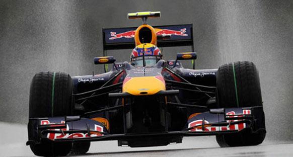 Belçika'da Webber pole pozisyonunda
