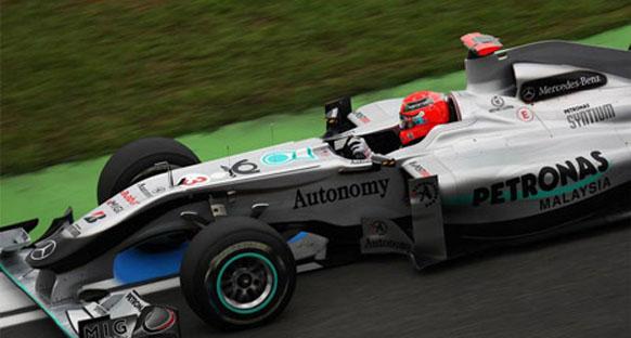 Button: 'Schumacher'in aracı benim için yapılmıştı'