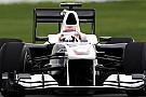 Sauber, Almanya'ya yeni bir difüzörle geliyor