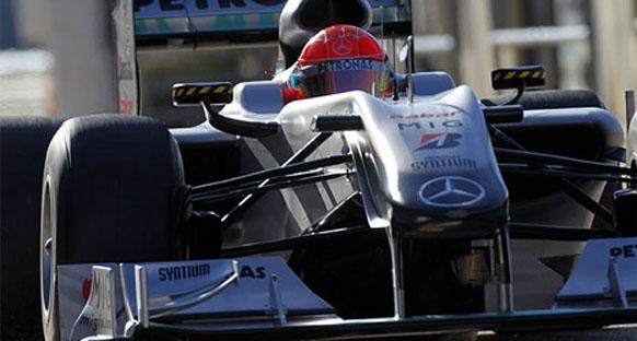 Avrupa GP öncesi Mercedes GP