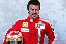 Alonso Ferrari tulumunu giydi!