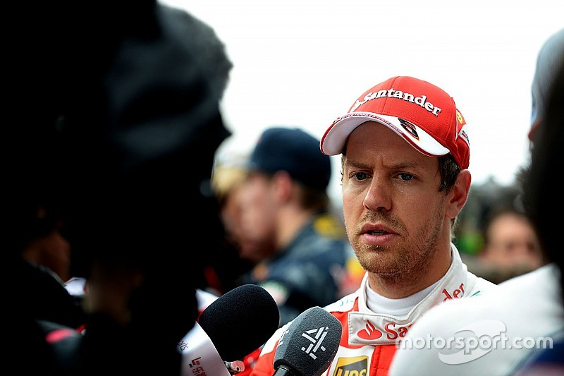 Vettel no se arrepiente de su discusión con Kvyat