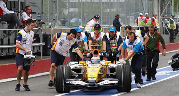 Piquet mutlu değil!