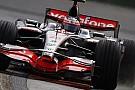 Kovalainen yanlış düğmeye bastığı için Alonso'ya geçildi
