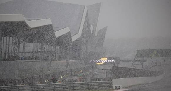 WEC: Silverstone'da üçüncü antrenmanlar kar yağışı nedeniyle iptal edildi
