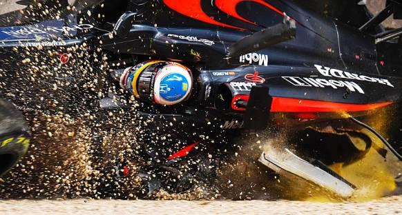 Alonso: 'Kaza, Halo için iyi bir test oldu'