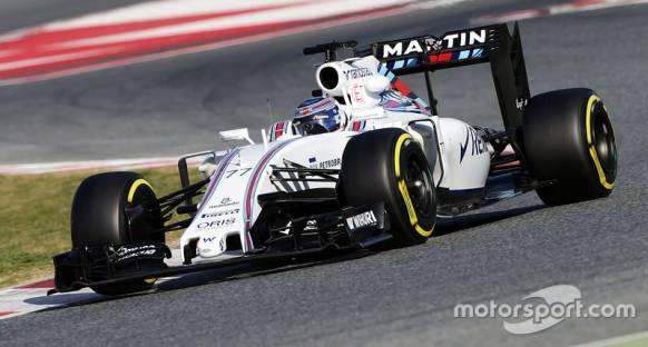 Barselona Testleri: Bottas Williams ile zirvede, Haas sorun yaşıyor