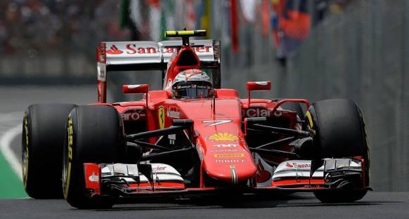 Kimi Raikkonen yarışta sıralamalardakinden farklı bir motor kullanmış