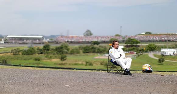 Alonso'nun hüsran seviyesi: Yüksek