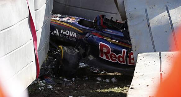 Vettel, Sainz'ın kazasına çok şaşırmış
