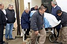 Fangio'nun naaşı DNA testi için mezarından çıkartıldı