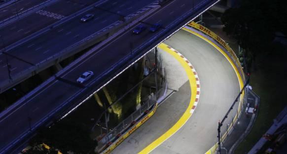 Singapur GP'de pist düzeni yenilendi
