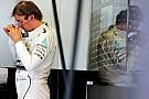 Rosberg, pole pozisyonunu kaçırdığı için sinirli