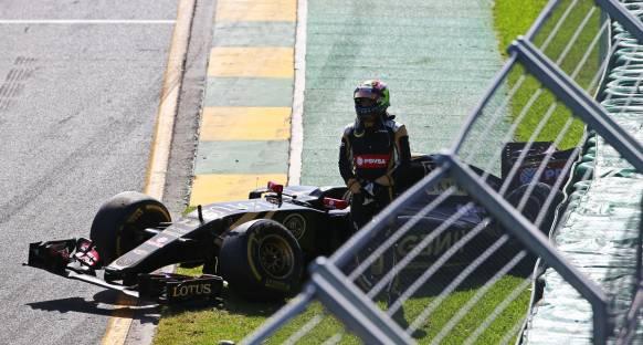 Maldonado: Lotus'un 2015 aracı kötü değil