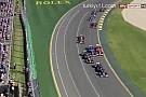 Avustralya GP kazayla başladı